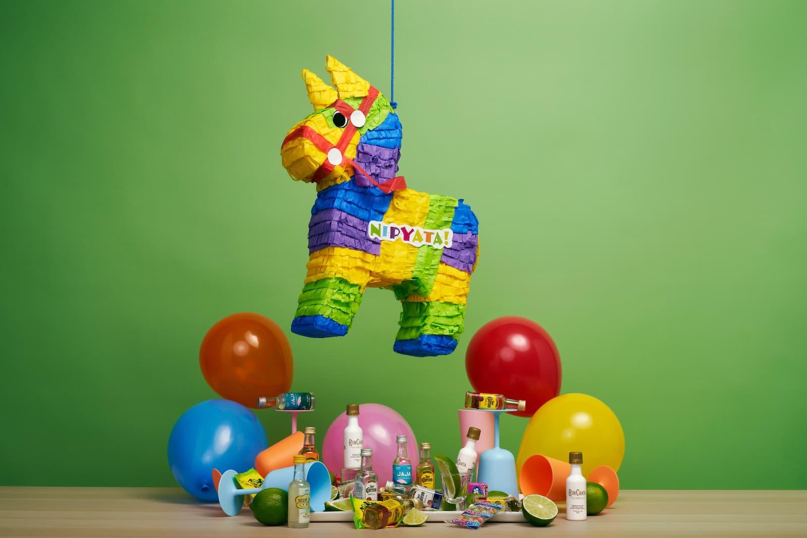 piñata colorée